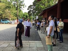 家康公のパワースポットめぐり、静岡浅間神社と駿府のまち歩き