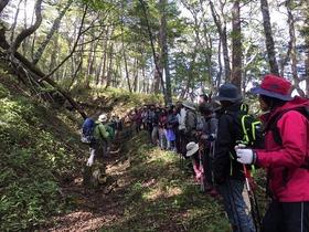 秋の須走口・小富士ハイキング