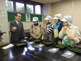 2014 新茶ツアー そふとの朝活! 早朝の茶市場へ潜入 Vol.1