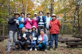 山歩きはじめの一歩 紅葉のブナの森西臼塚ハイキングvol.2