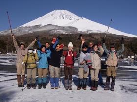 富士山腹スノーハイク~冬の森で遊ぼうvol.1