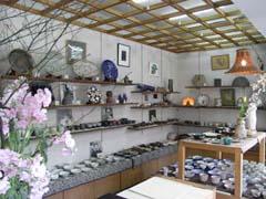 伊豆の陶芸家作品を堪能