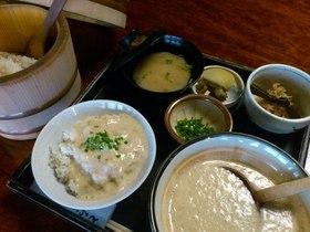 東海道の歴史と旅人の元気食 丸子宿名物 とろろ汁