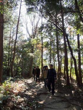 しずおか・低山ハイキングツアー 森町・八形山と町民の森