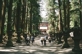 富士講の歴史を訪ねる参道ピクニック ~冬の山麓と街中そぞろ歩き~
